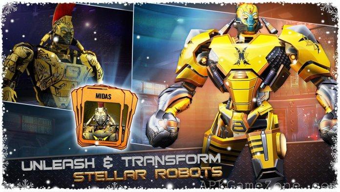 Real Steel World Robot Boxing APK Mod