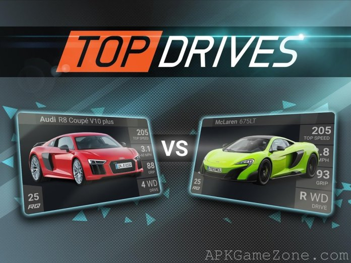 Top Drives APK Mod