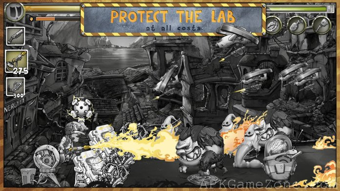 Metal Defender Battle Of Fire APK Mod