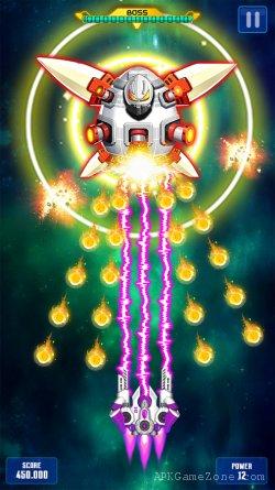 Space Shooter Galaxy Shooting APK Mod