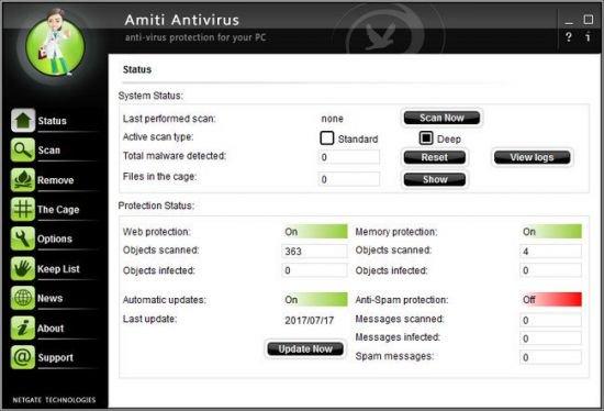 NETGATE Amiti Antivirus Patch