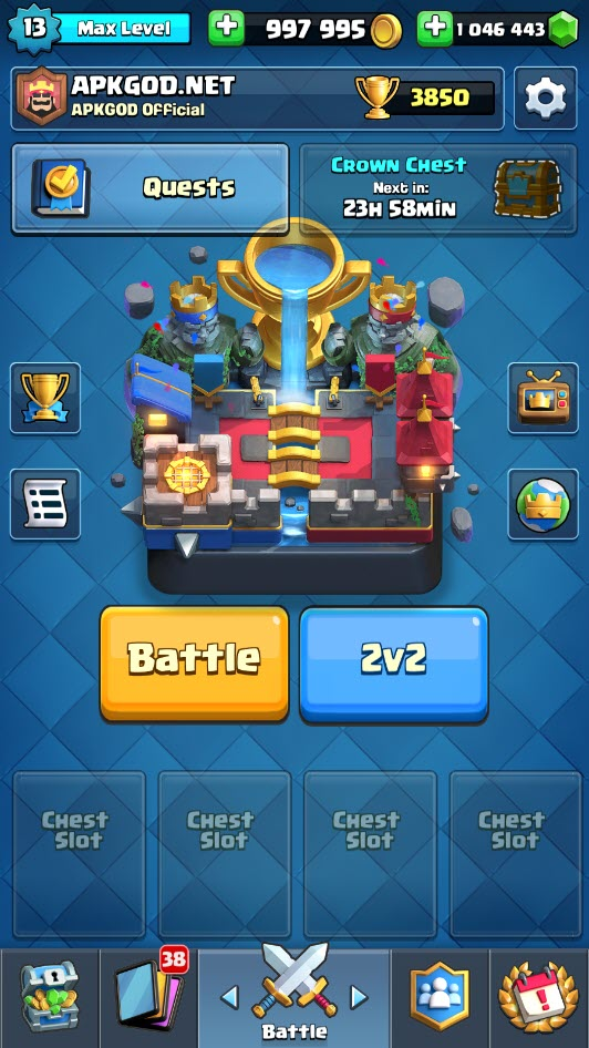 Clash Royale Mega MOD Private Server [Latest]