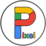 Pixel Carbon Icon Xidhmo V 1.05 APK Laabtay