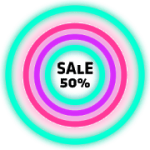 Neon Glow Rings Icon Pack V 4.7.0 APK Patched