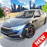 Car Simulator Civic City Driving v 1.1.0 Mod APK