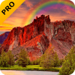 Red Mountain Pro Live Wallpaper V 2.4.0 APK Paid