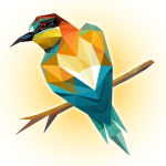Poly Island: create, color, relax