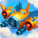 HAWK Alien Arcade Shooter Freedom squadron MOD APK (Damage)