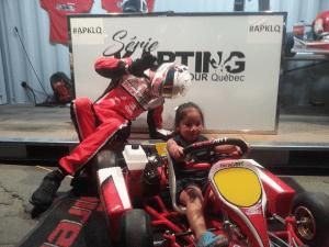 Grand prix F1 Montréal, Série karting TOUR Québec était présente