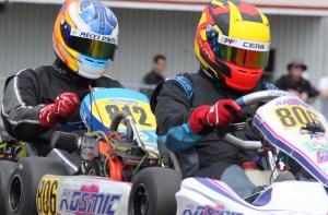 Compétition de karting en Briggs & Stratton dans la Série karting TOUR Québec