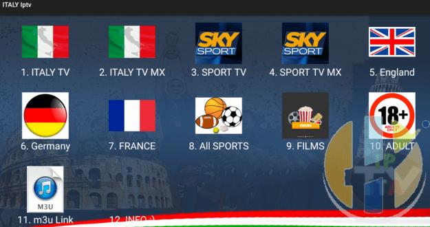 ITALY IPTV APK