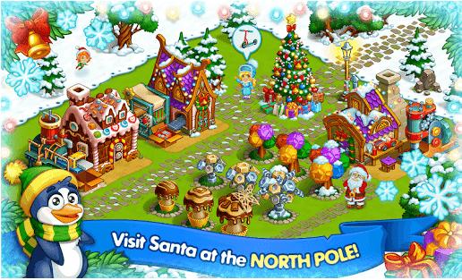 Farm Snow Happy Christmas Story With Toys Santa v1.60 Mod Money Apk Free Download