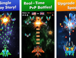 Galaxy Attack Alien Shooter v6.19 Mod Money Apk Free Download