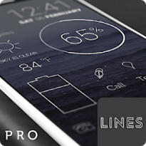 Lines – Icon Pack (Pro Version) v3.0.9 [Patched] APK [Latest]