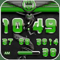 dragon digital clock green v2.70 [Paid] APK [Latest]
