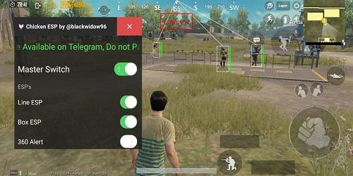 Screenshot of Chicken ESP