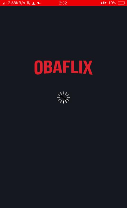 Screenshot of Obaflix App