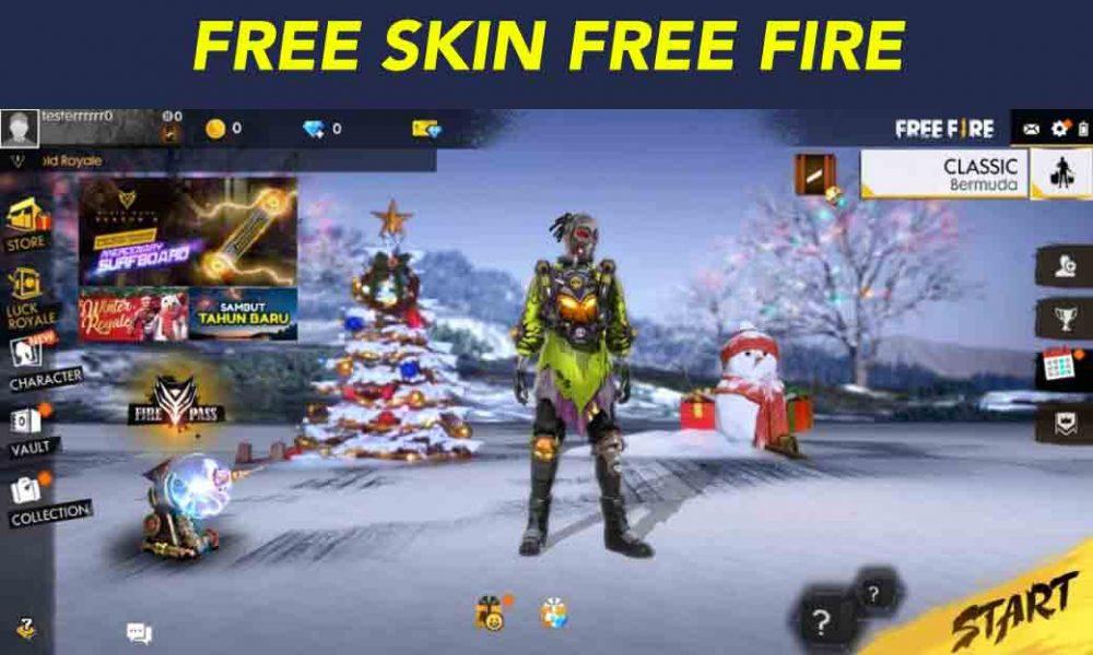Screenshot of Tool Skin Free Fire App
