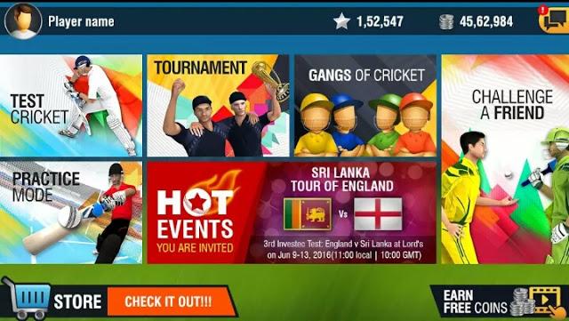 Screenshot of WCC3 Mod App