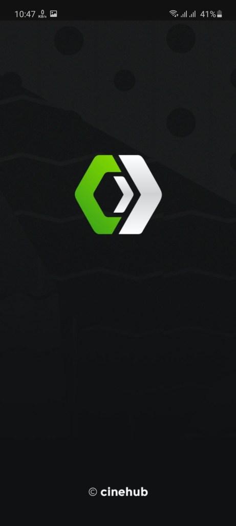Screenshot of Cinehub App