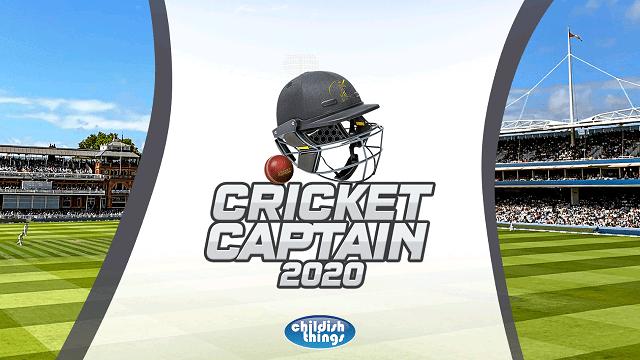 Screenshot of Cricket Captain 2020