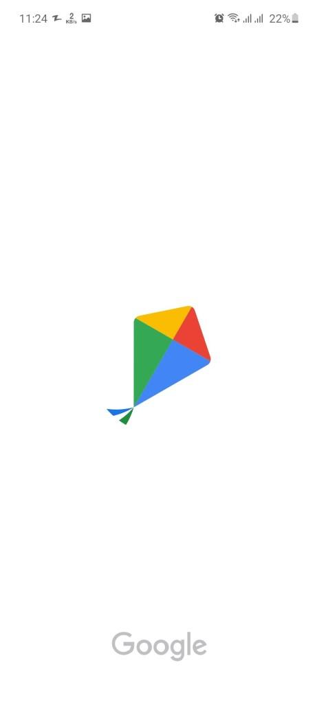 Screenshot of Google Kormo Job App