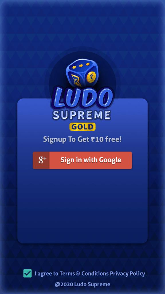 Screenshot of Ludo Supreme Gold Apk