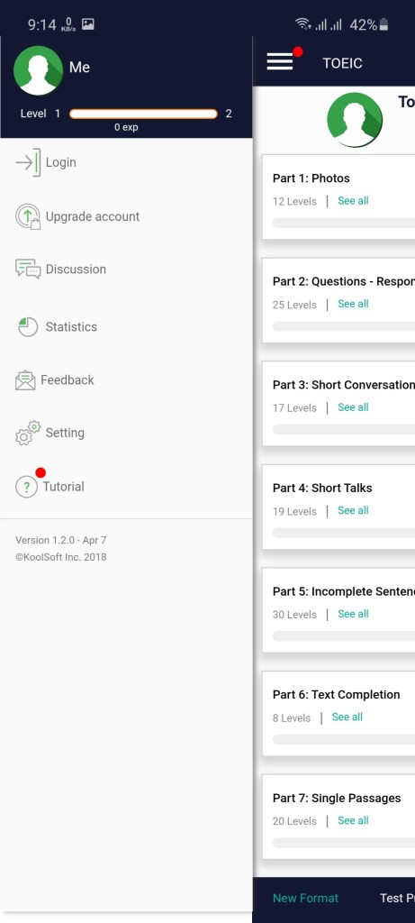 Screenshot of Viera App