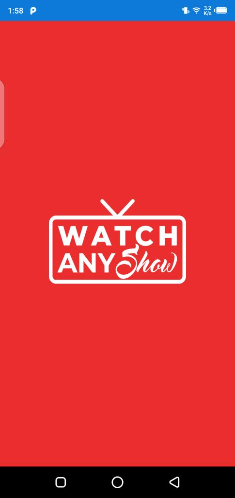 Screenshot of Watch Any Show
