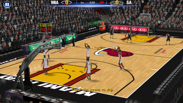 Screenshot of NBA 2k14 Apk OBB