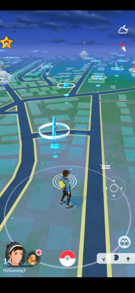 Screenshot of PG Sharp Pokemon Go