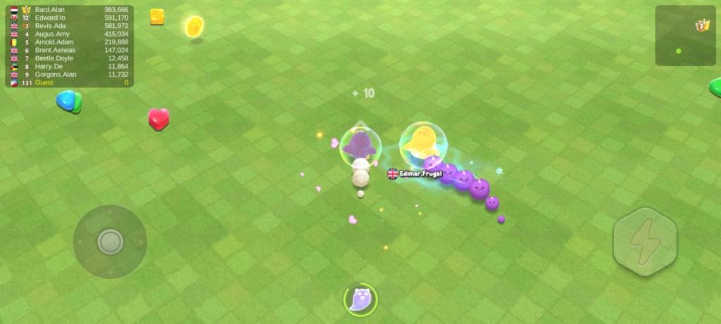 Screenshot of Sweet Crossing Snake io Apk