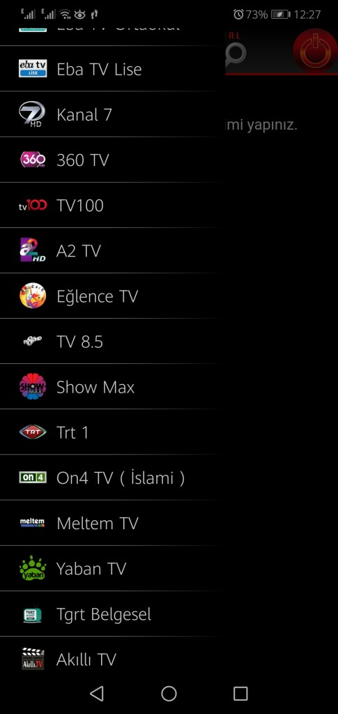 Screenshot of CEP TV Apk