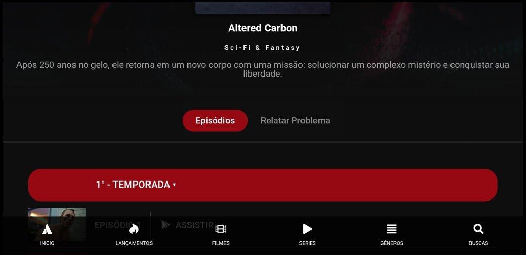 Screenshot of Pobreflix