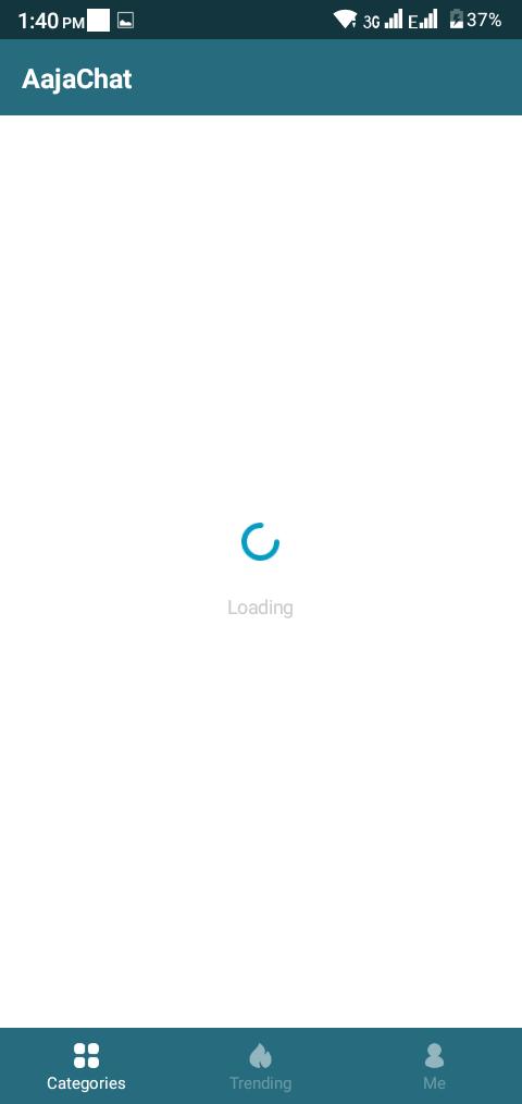 Screenshot of AajaChat Apk