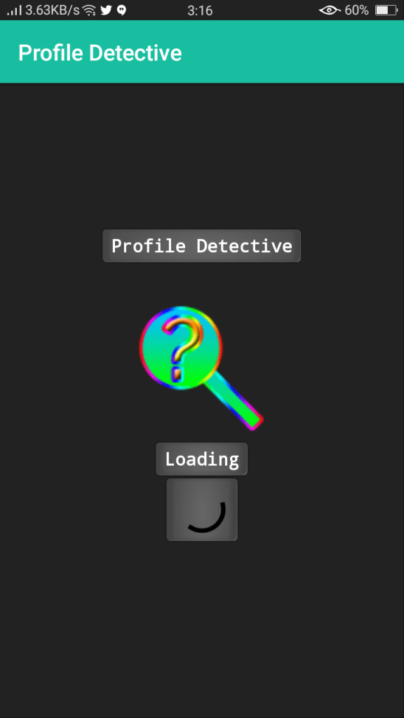 Screenshot of FB Detective Apk