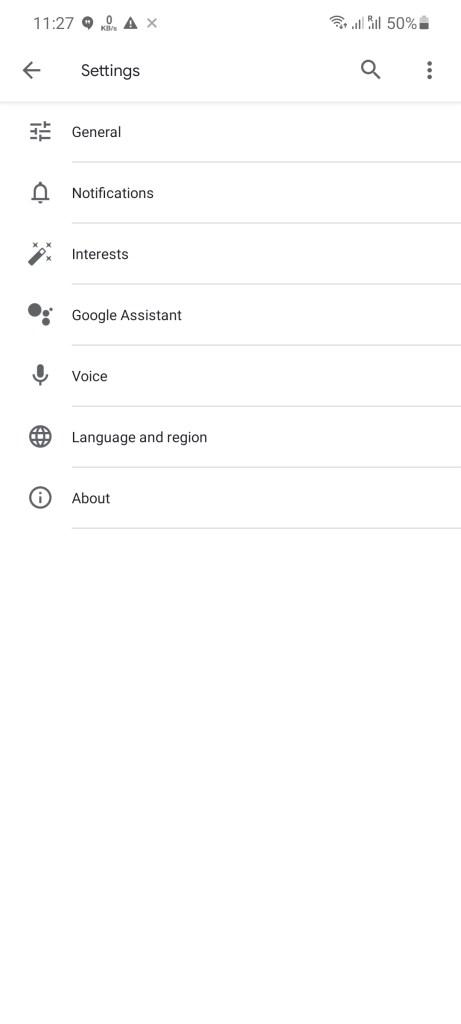 Screenshot of Remote 1 App