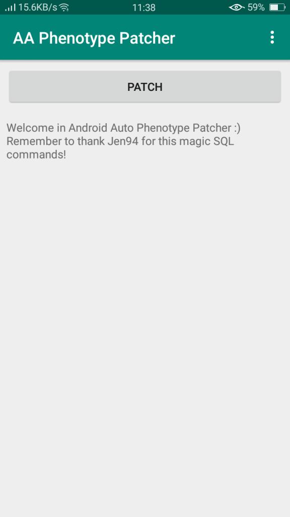 Screenshot of AA Phenotype Patcher Download