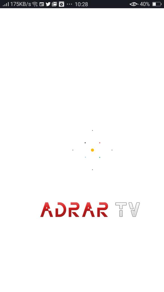 Screenshot of Adrar Tv Pro Apk