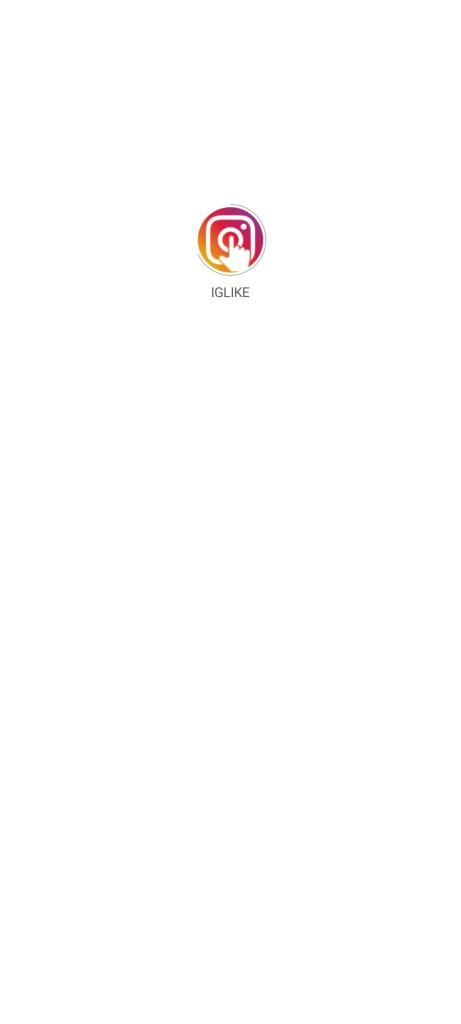 Screenshot of IG Like Indo App