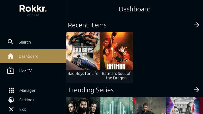 Screenshots of Rokkr Download