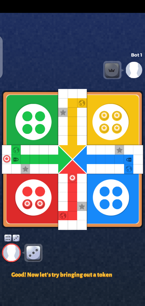 Screenshot of Ludo Star 2 Android