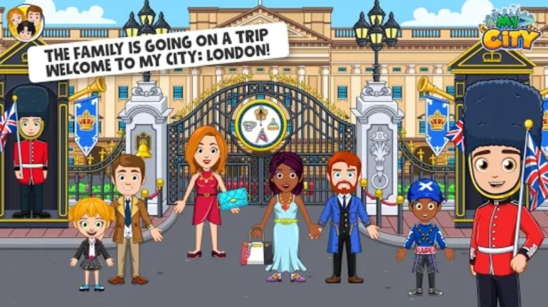 Screenshot of My City London Apk