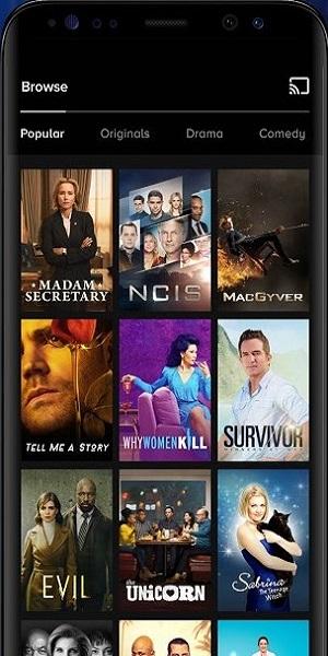 Screenshot of Paramount Plus App Download