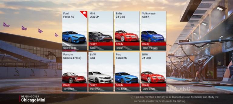 Screenshot of Racing Master Beta Apk