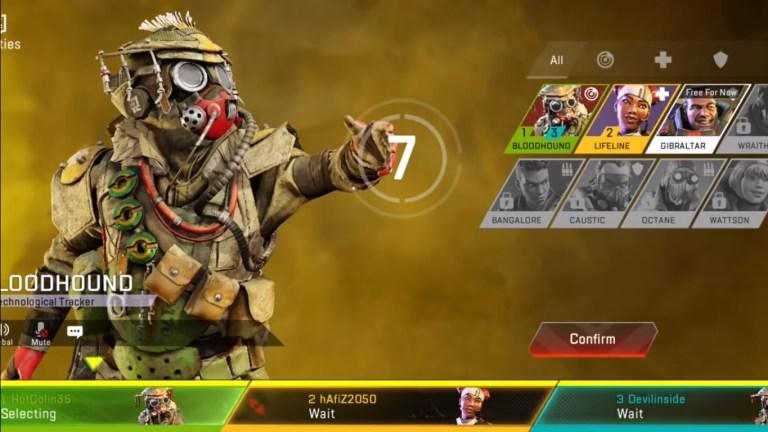 Screenshot of Apex Legends Mobile Beta Apk