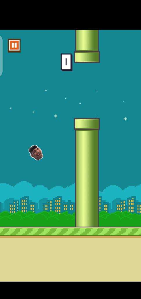 Screenshot of Hiko Baba Bird Game Apk