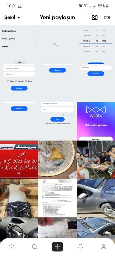 Screenshot of Wibty App Apk