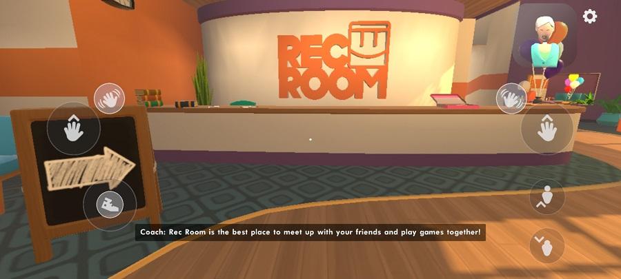 Screenshot of Rec Room Mobile Apk