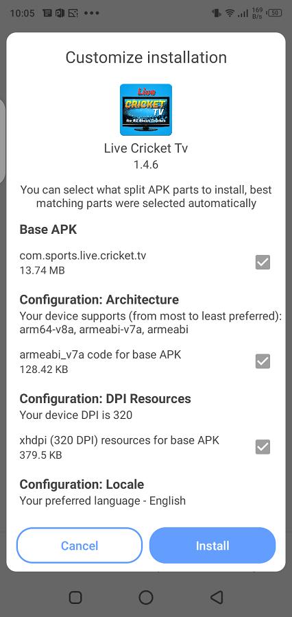 Screenshot of IP Sports Download